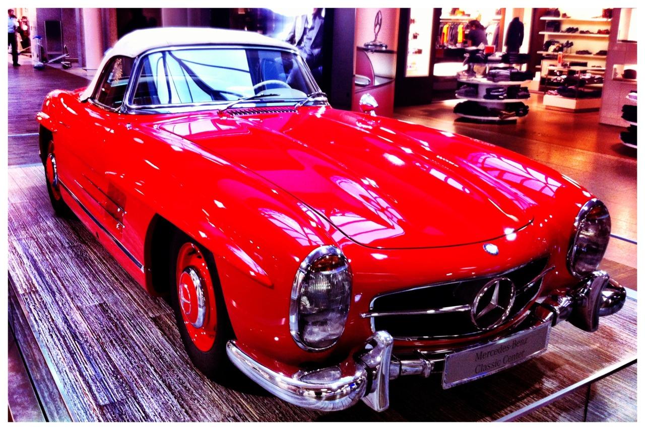 Car in Frankfurt Airport