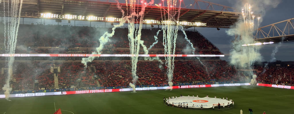 Toronto FC home opener at BMO Field
