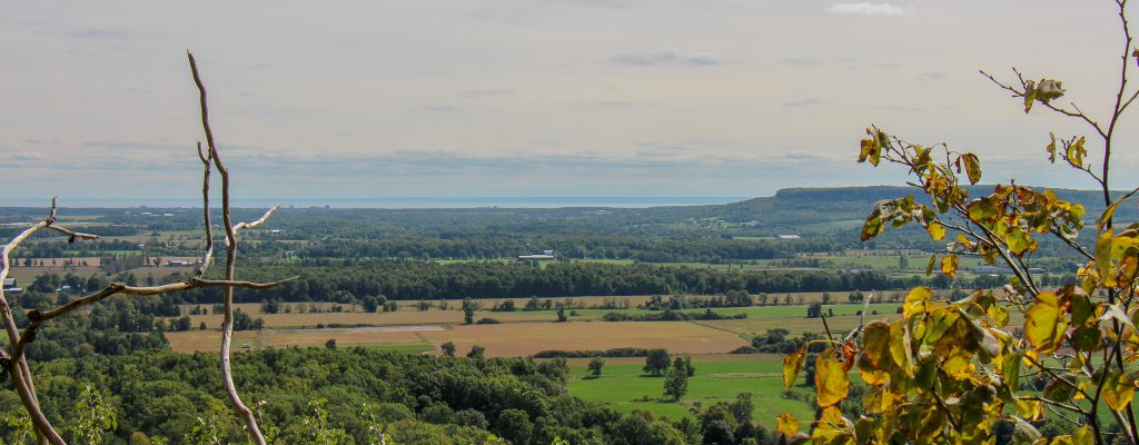 Hiking at Rattlesnake Point (September 2018)